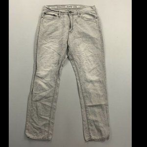 Lucky Brand Gray 410 Athletic Slim Fit Linen Jeans